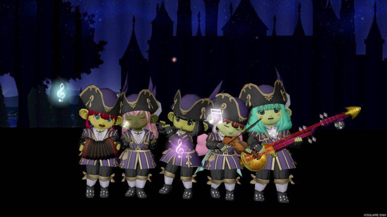 11月は宵闇シルエットと楽器が似合う青年貴族のコートセット☆
