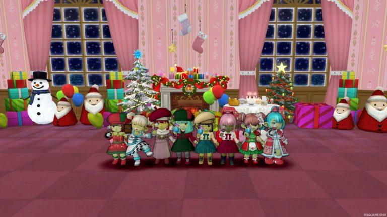 楽しいクリスマスの夜はふけゆく…
