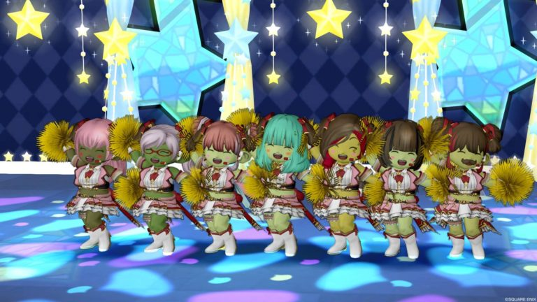 最後にみんなでチアダンス☆